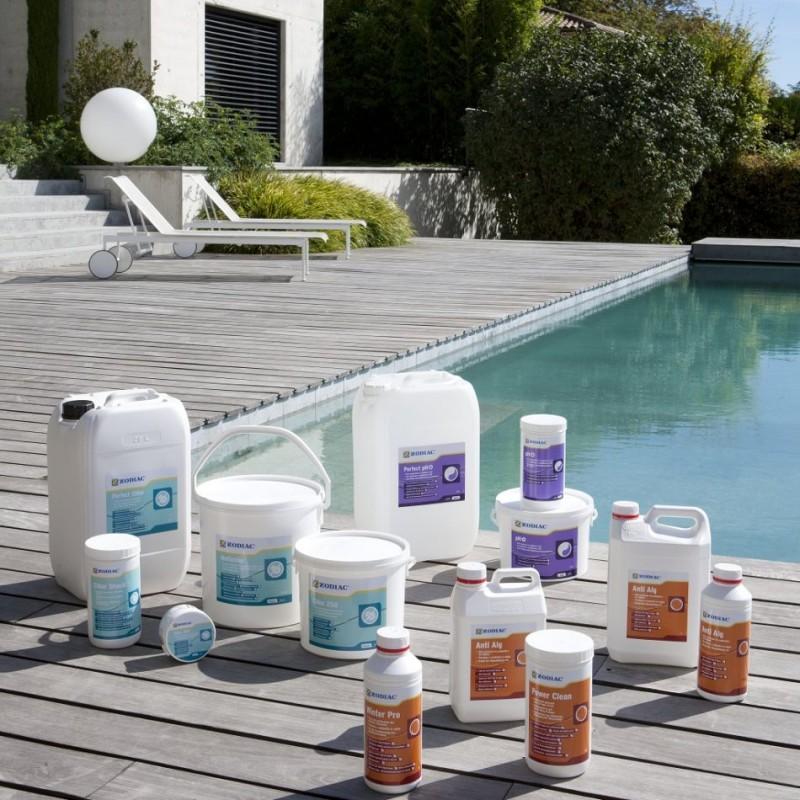 Химическая очистка воды в бассейне
