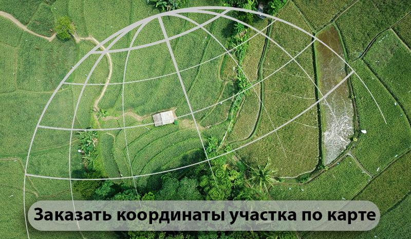 Как заказать координаты земельного участка
