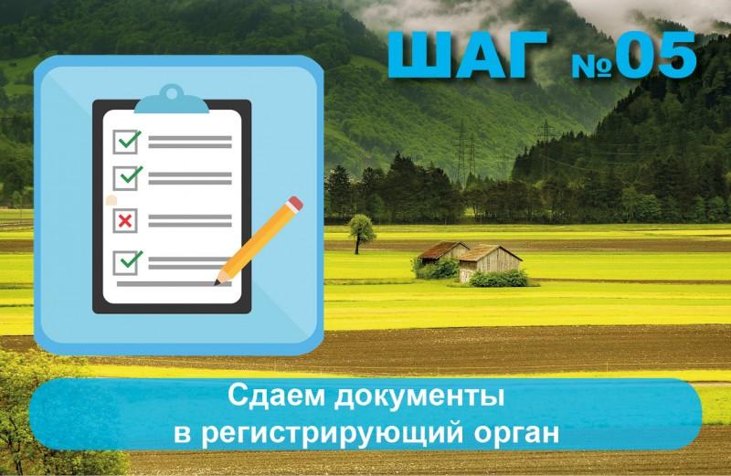 сдаем документы для регистрации в Росреестре